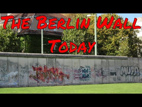 What the Berlin Wall Looks Like Today Popular East Berlin West Berlin Tourist Site Berlin Germany