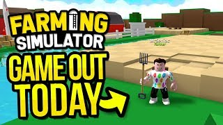 ROBLOX FARMING SIMULATOR OUT NOW!