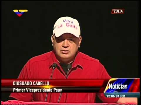 """Diosdado Cabello: """"Casi listo el decreto sobre la gaita como Patrimonio"""""""
