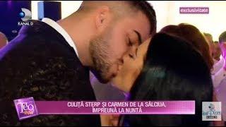 Teo Show(30.10)-Culita Sterp si Carmen de la Salciua, impreuna la nunta surorii lui, Ileana Sterp!