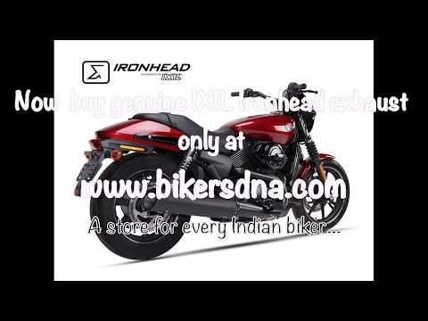 IXIL Ironhead exhaust for Harley Davidson street 500/750