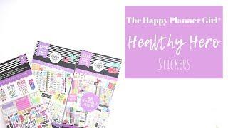 The Happy Planner Girl® | Healthy Hero STICKERS