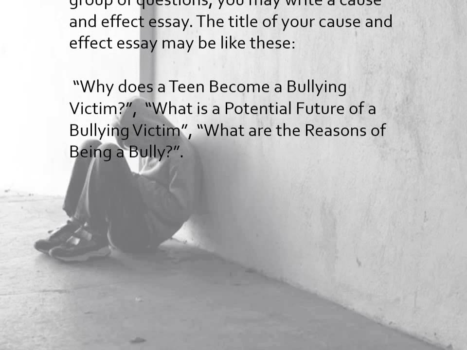 Bullying Essay  YouTube