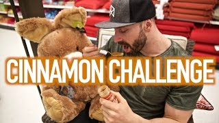 I ACTUALLY FINISHED THE CINNAMON CHALLENGE!