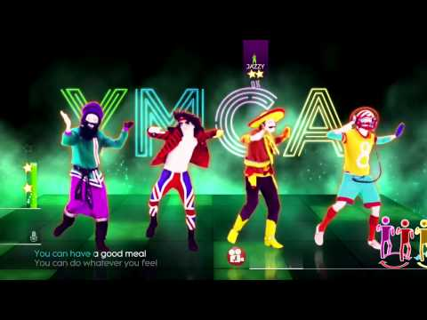 Just Dance 2014 Y.M.C.A. by The Village People Music & Lyrics Video YMCA