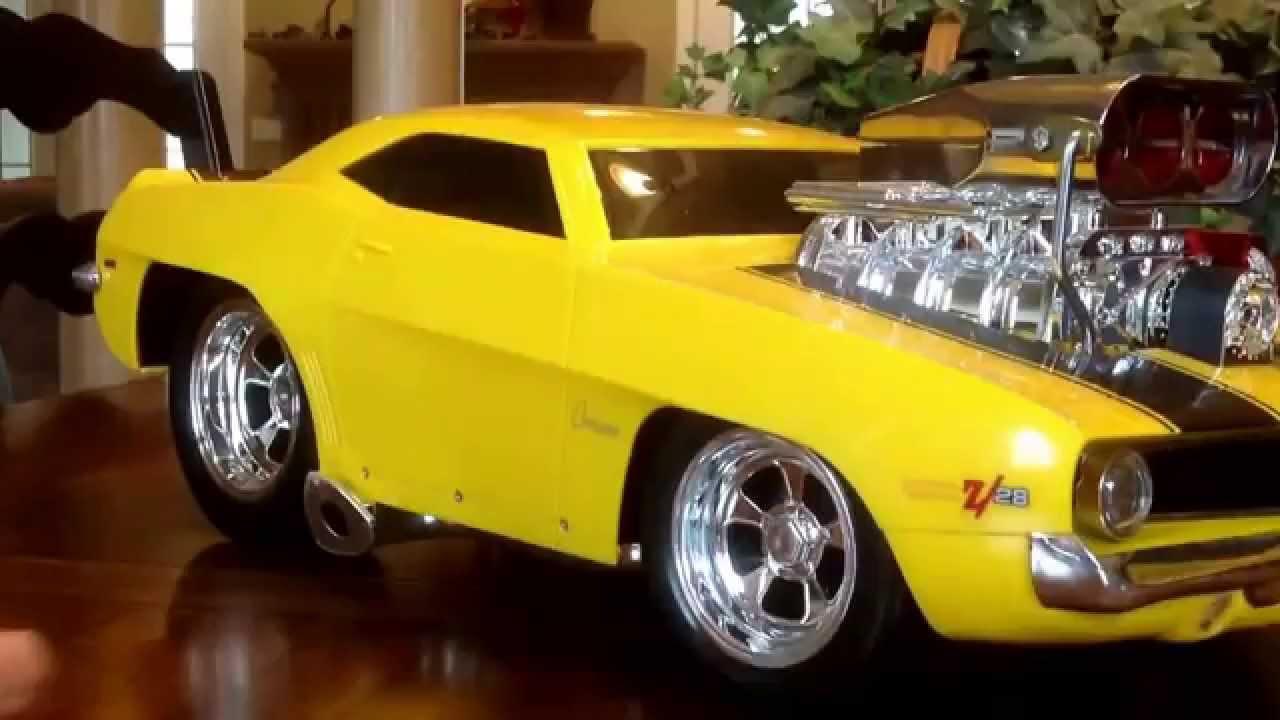 69 Camaro RC Muscle Machine, Ebay - YouTube