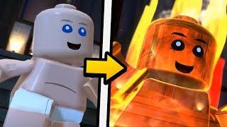 PRAWDZIWE OBLICZE JACK-JACK'a - LEGO: Iniemamocni
