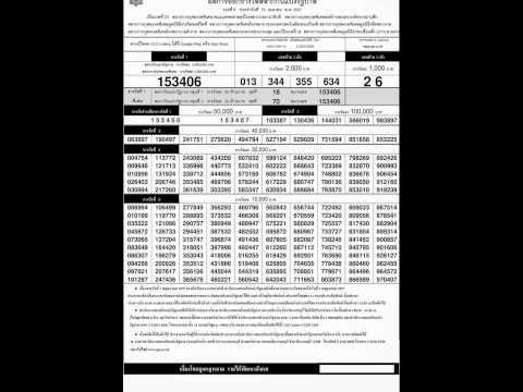 ตรวจหวย 16 เมษายน 2557 ผลสลากกินแบ่งรัฐบาล 16/4/57