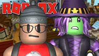 AS BRUXAS E MONSTROS ATACARAM O ROBLOX ( GearLand )