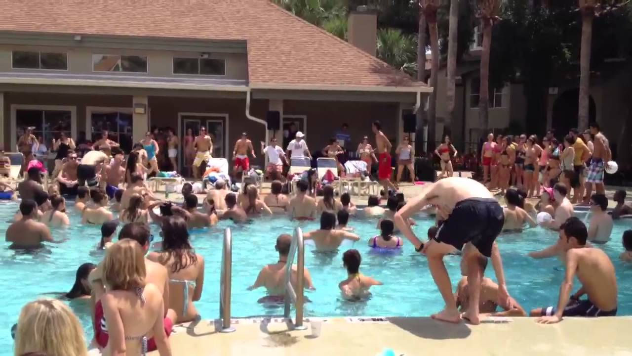 Vista Way Pool Party Pt. 2   YouTube