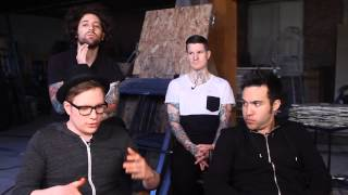 "Fall Out Boy Talk ""Miss Missing You"" from their new album Save Rock and Roll"
