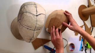 #79: Cardboard Head Form - with free template (size S, M, L) | Costume Prop | How To | Dali DIY