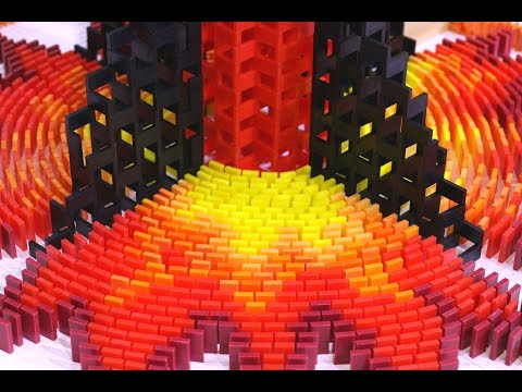 Thumbnail: 200,000 Dominoes - The Incredible Science Machine