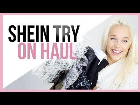 SHEIN HAUL I Black Friday Online Shopping 2017 🤩