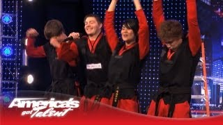 See Team Rock's High Flying Tae Kwon Do - America's Got Talent