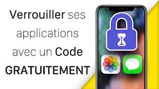 Comment Verrouiller ses Apps avec un Code (Photos, Messages, ...) sur iOS 13 GRATUITEMENT en 2020 !! screenshot 3