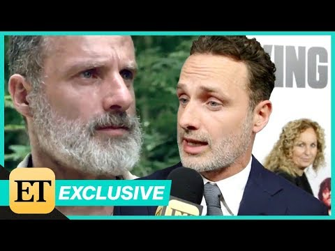 Andrew Lincoln Teases a Bloody Goodbye to Rick Grimes on The Walking Dead Season 9! Exclusive
