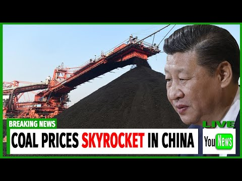 COAL PRICES SKYROCKET IN CHINA! Coal price hits fresh high as mines shut.