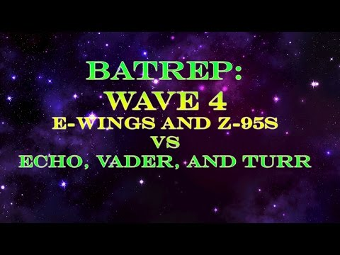 Batrep: Wave 4 ships in action