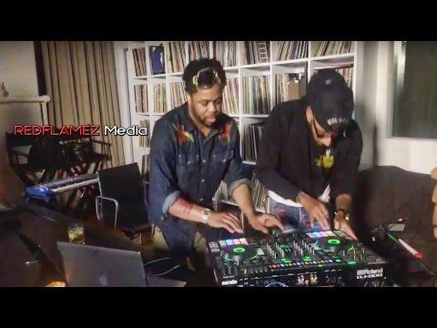 REDFLAMEZ Exclusive Swizz Beats & Just blaze Beat Battle