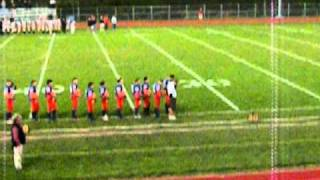 Oneida High School Football Game-National Anthem 10/2010