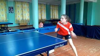 Индивидуальное обучение настольному теннису  Омск