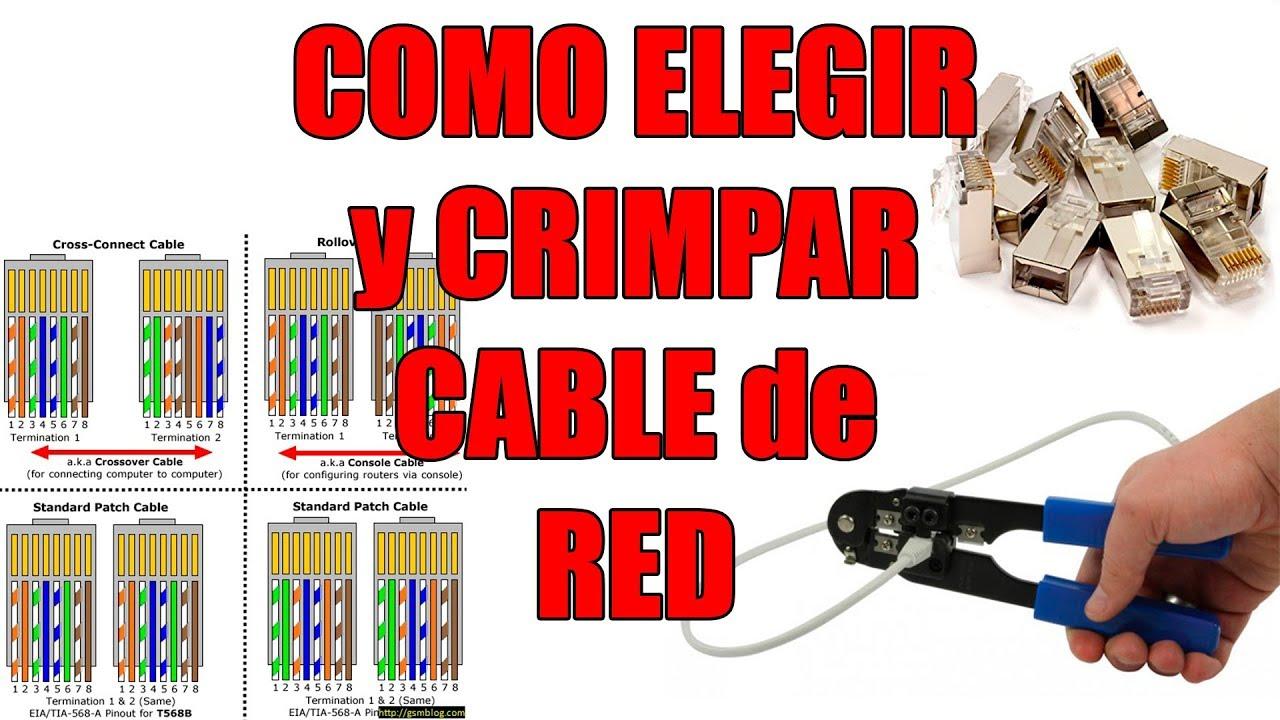 Como Crimpar Un Cable De Red Y Diferencias Entre Cables