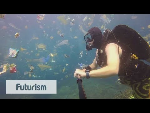 Startling Footage Shows Plastic Waste In The Ocean
