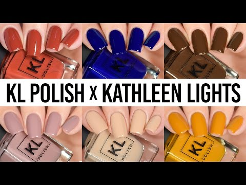KL Polish Kathleen Lights First Impression - LIVE Swatch & Wear Test Review!