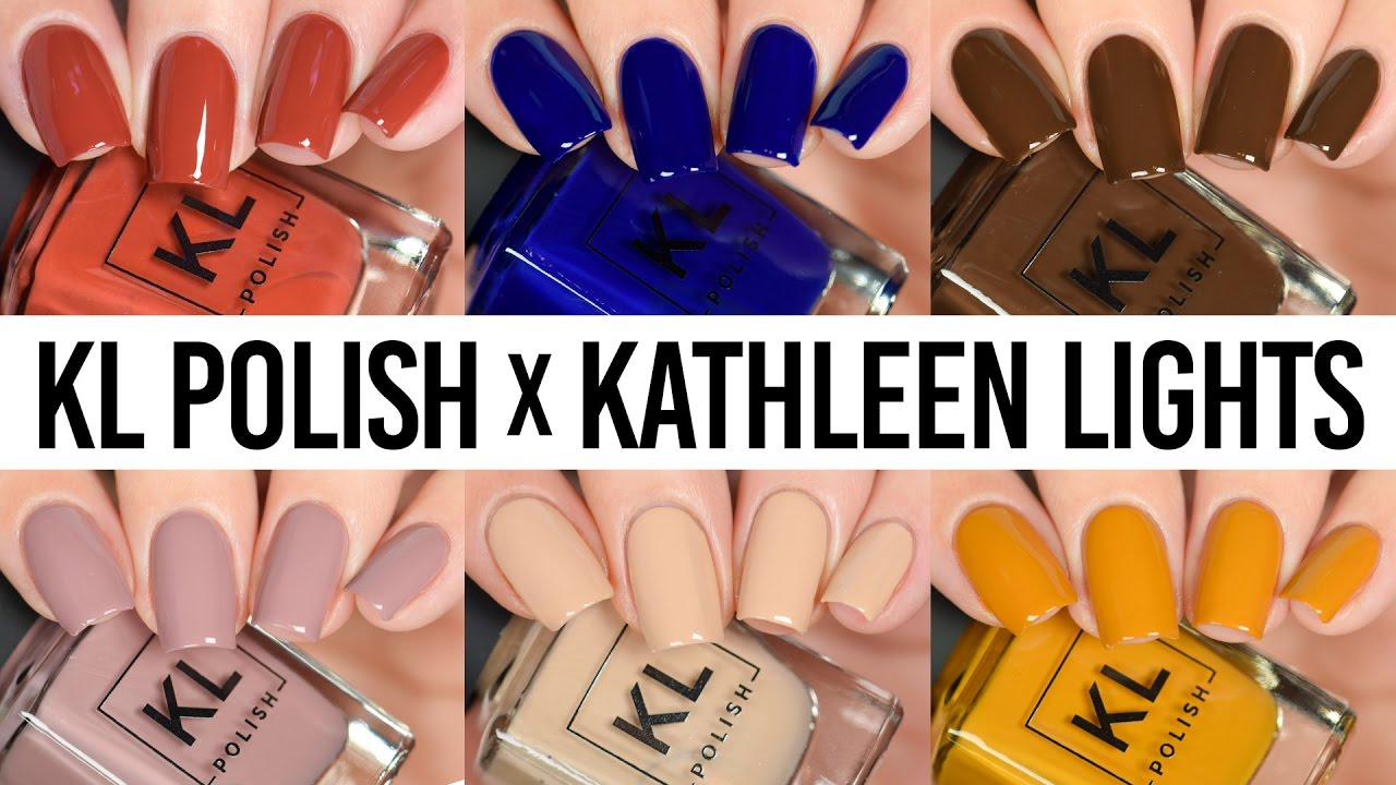 KL Polish Kathleen Lights First Impression - LIVE Swatch & Wear Test ...
