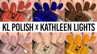KL Polish Kathleen Lights First Impression - LIVE Swatch & Wear Test Review!