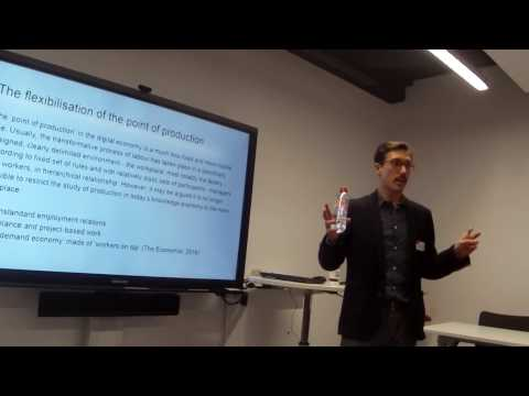 """Alessandro Gandini on """"Labour process and digital labour"""" - PART 1"""