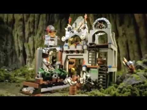 Dwarves' Mine 7036 & King's Castle Siege 7094 - Lego Castle