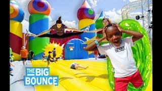 Super Siah Teleported To A Big Bounce House World