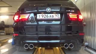 BMW X5M (тюнинг выхлопной системы)(Звук можно сделать любой и на любой автомобиль. Наш сайт: http://www.fili-tek.ru/ Группа ВКонтакте: http://vk.com/club_filitek ..., 2015-07-08T21:28:48.000Z)