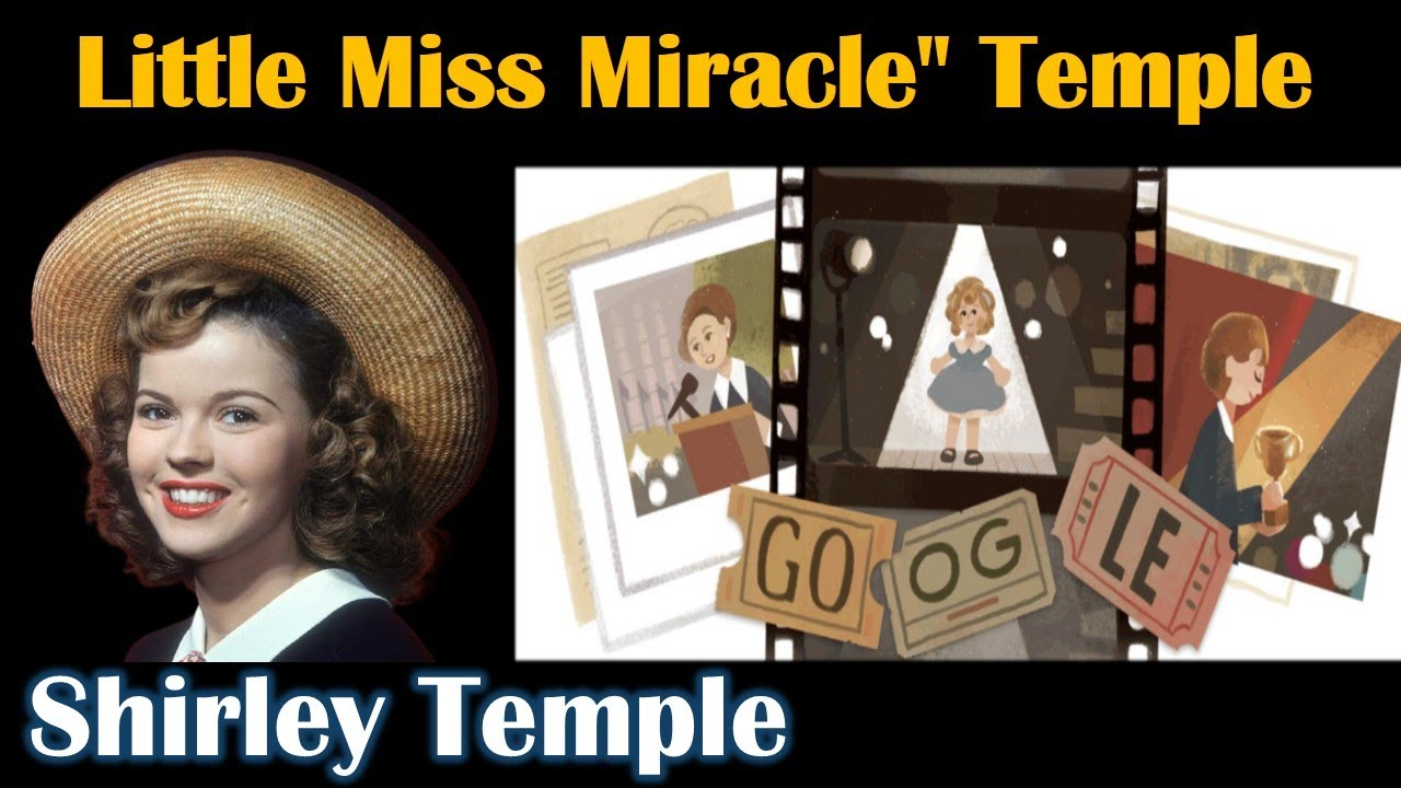 Shirley Temple: Google Doodle honors American child star-turned ...