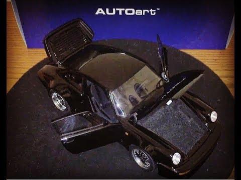 1/18 Porsche 911 turbo Blackbird by Autoart