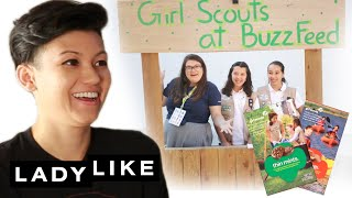 We Learn How To Be Girl Scouts • Ladylike