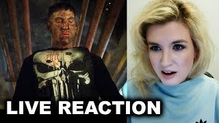 The Punisher Trailer REACTION