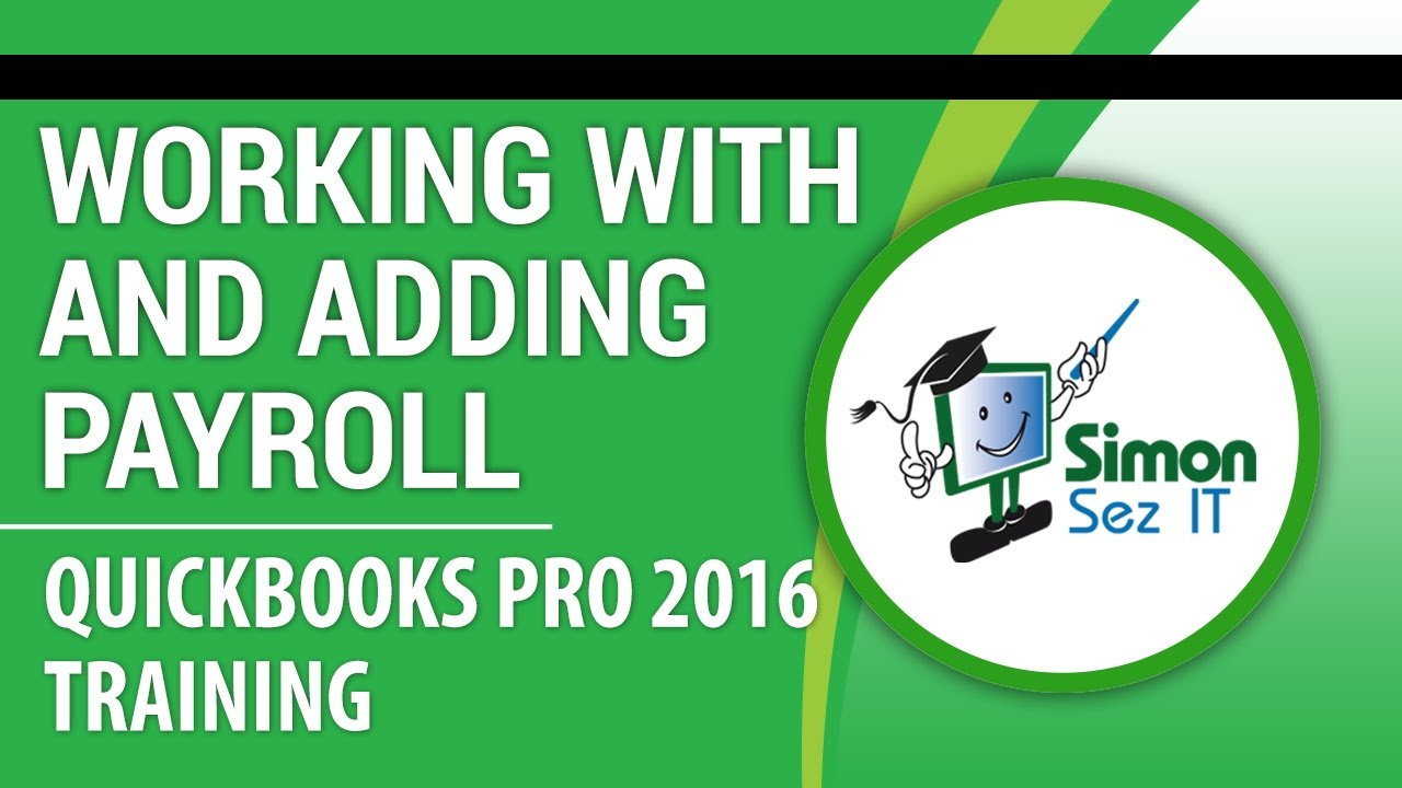 how to add a payroll item in quickbooks online