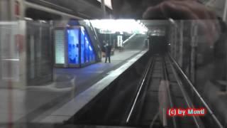 UNGLAUBLICH! U-Bahn ohne Lokführer in Nürnberg unterwegs...! (HD)