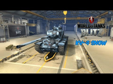KV-4 Snow - World of Tanks Blitz