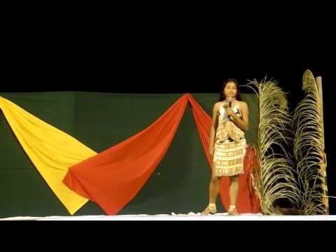 Guyana Amerindian Girl