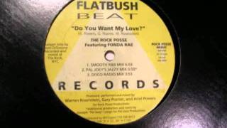 The Rock Posse Featuring Fonda Rae_Do You Want My Love? (Disco Radio Mix)