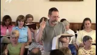 Jerry Enright leads 330b in the Sacred Harp