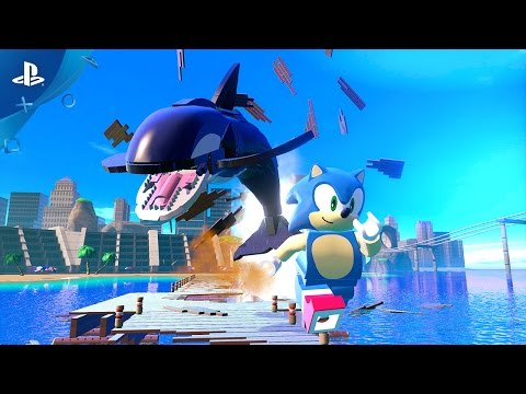 LEGO Dimensions - Sonic Gameplay Trailer | PS4, PS3