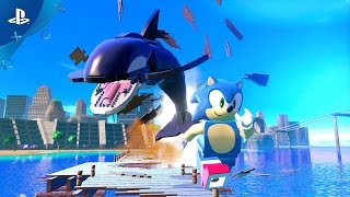 Video LEGO Dimensions - Sonic Gameplay Trailer | PS4, PS3 download MP3, 3GP, MP4, WEBM, AVI, FLV Juli 2018