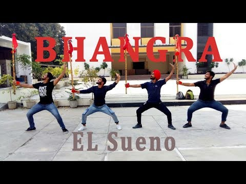 Bhangra on El Sueno || Diljit Dosanjh || Relationship with Bhangra ||