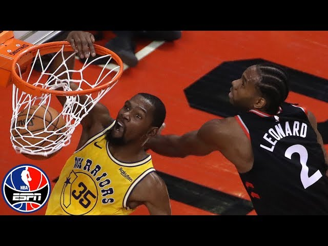 Kevin Durant scores 51, Kawhi Leonard 37 as Raptors defeat Warriors in OT | NBA Highlights