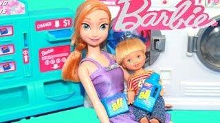 Play-doh Frozen Parody Barbie Broken Washing Machine Disney Anna Playdough Toby Alltoycollector
